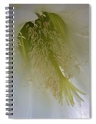 Easter Lily Cactus Spiral Notebook