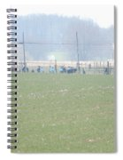 Easter Monday Amish Youth Gathering Spiral Notebook