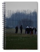 Easter Monday Family Gathering Spiral Notebook