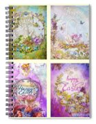 Easter Mood Collection Spiral Notebook