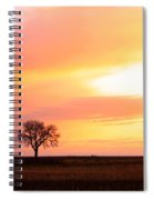 Easter Morning Sunrise Spiral Notebook