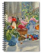 Easter Table Spiral Notebook