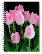 Easter Tulips  Spiral Notebook