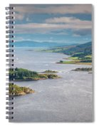 Eastern Kyle Of Bute Spiral Notebook