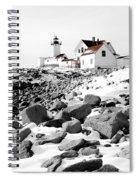 Eastern Point Light Spiral Notebook