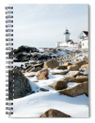 Eastern Point Light II Spiral Notebook