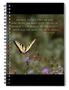 Eastern Tiger Swallowtail Butterfly - The Beauty Of The Wild Spiral Notebook