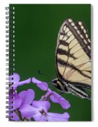 Eastern Tiger Swallowtail Spiral Notebook