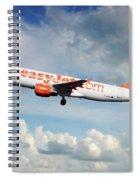 Easyjet Airbus A321-214 G-eztk Spiral Notebook