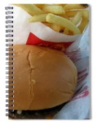Eating In The Car Spiral Notebook