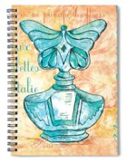 Eau De Toilette Spiral Notebook