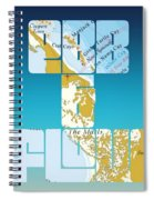 Ebb And Flow Bahamas Spiral Notebook