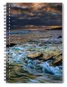 Ebb And Flow II Spiral Notebook