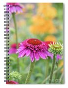 Echinacea Catharina Red  Spiral Notebook