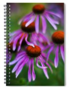 Echinacea Crowd Spiral Notebook