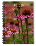 Echinacea Front And Center Spiral Notebook