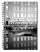 Echoes Of Mills Past Spiral Notebook