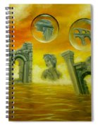 Echoes Of The Past Spiral Notebook