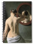 Eckersberg: Nude, C1837 Spiral Notebook