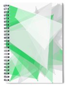 Eco Tec Polygon Pattern Spiral Notebook