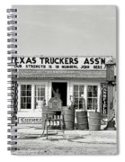 Edcouch Texas Gas Station 1939 Spiral Notebook