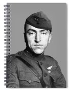 Eddie Rickenbacker Spiral Notebook
