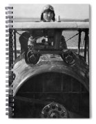 Eddie Rickenbacker - World War One - 1918 Spiral Notebook