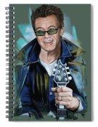 Eddie Van Halen Spiral Notebook