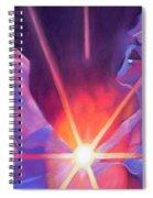 Eddie Vedder And Lights Spiral Notebook
