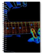 Cosmic Fingers Spiral Notebook