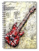 Eddie's Guitar 3 Spiral Notebook