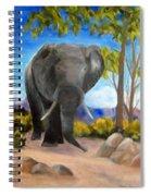 Eddy Elephant Spiral Notebook