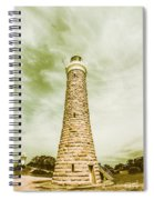 Eddystone Point Lighthouse Spiral Notebook