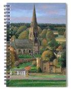 Edensor - Chatsworth Park - Derbyshire Spiral Notebook