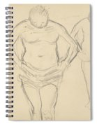 Copies Of Cezanne's Bathers Spiral Notebook