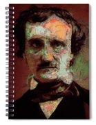 Edgar Allan Poe Artsy 2 Spiral Notebook