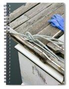 Edgartown Fishing Boat Spiral Notebook