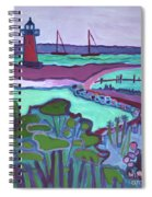 Edgartown Fog Spiral Notebook