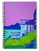 Edgartown Porches Spiral Notebook