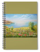 Edge Of The Cliffs By The Sea Spiral Notebook