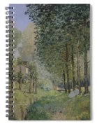 Edge Of The Wood Spiral Notebook