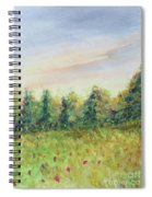 Edge Of Trees Spiral Notebook