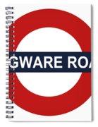 Edgware Road Spiral Notebook