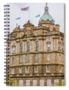 Edinburgh Bank Of Scotland Building Spiral Notebook