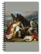Edith Finding The Body Of Harold Horace Vernet Spiral Notebook