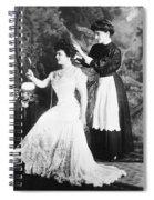Edith M. Kingdon (1864-1921) Spiral Notebook