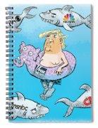 Editorial Cartoonist Spiral Notebook