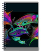 Edo Screen Spiral Notebook