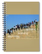 Educational Travel With Happymiles Spiral Notebook