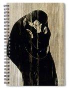 Edvard Munch: The Kiss Spiral Notebook